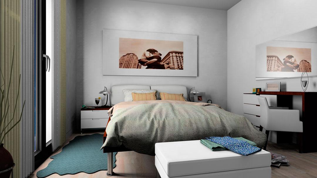 Tipo 1. Dormitorio